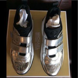 Michael Kors Silver Sneakers